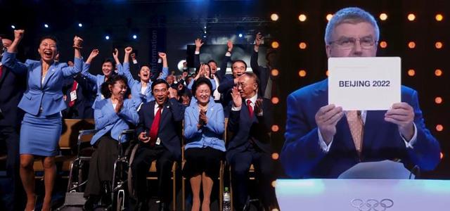 庆北京申奥成功,2022我们一起赏雪听曲看大赛