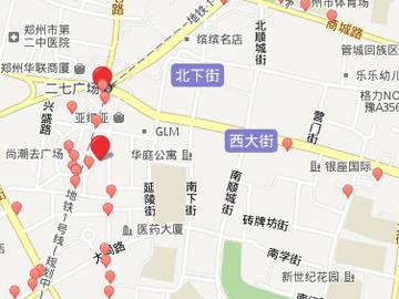 真郑州地图
