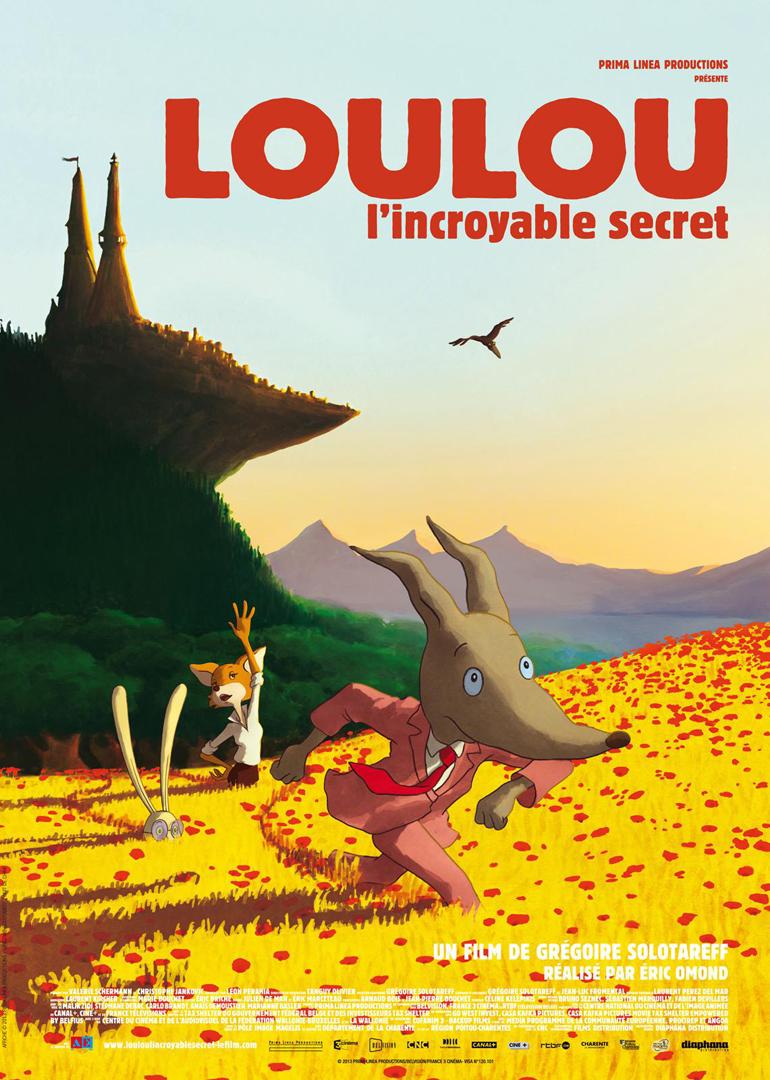 璐璐狼Loulou, lincroyable secret - 安陵君 - 松陵子