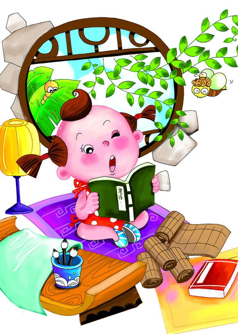 腾讯儿童原创古诗动画图片
