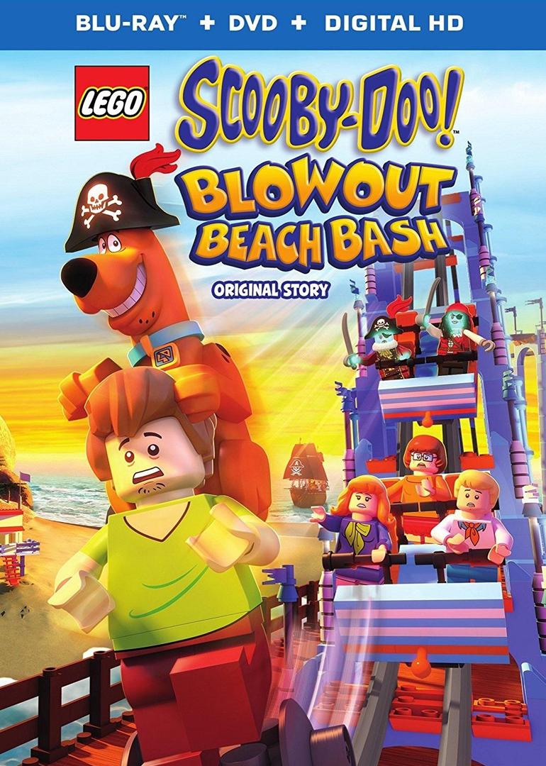 乐高®史酷比!狂欢海滩之谜