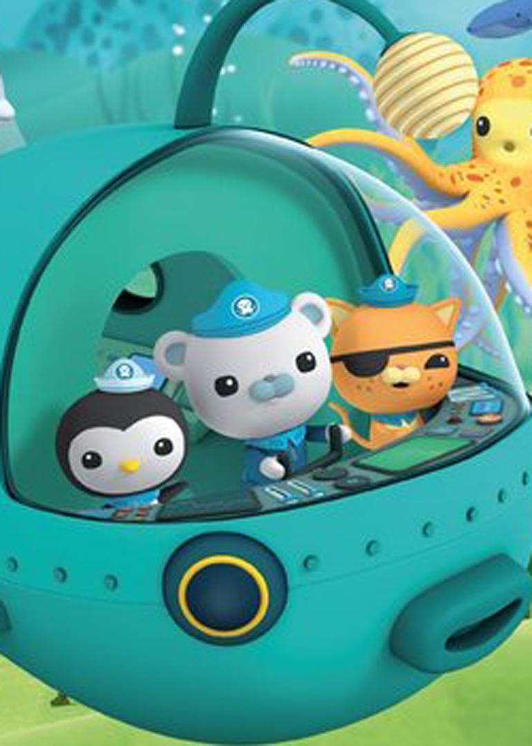 八只活泼可爱的小动物开始了他们的海底奇幻冒险旅程