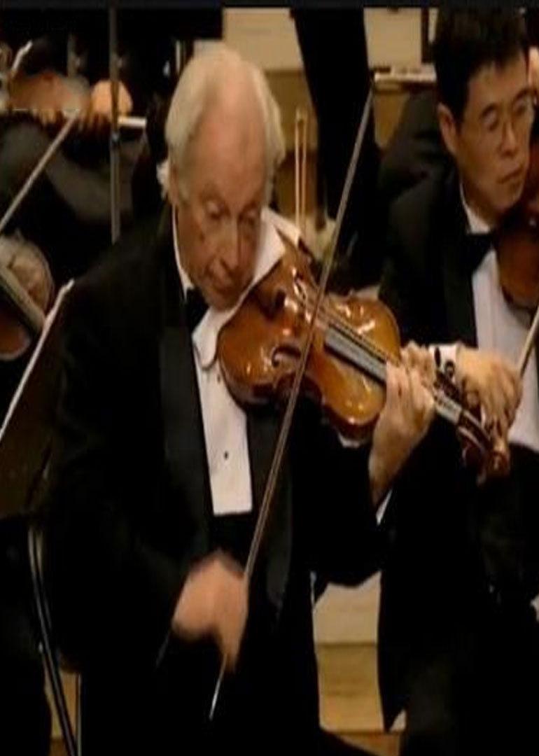 在1979年,斯特恩作为西方第一位来华演出的小提琴大师,在北京演奏了图片