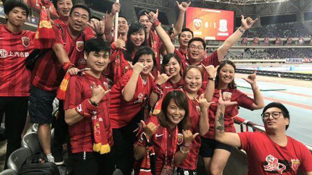 足球万象中超 上海上港队远征球迷的一天