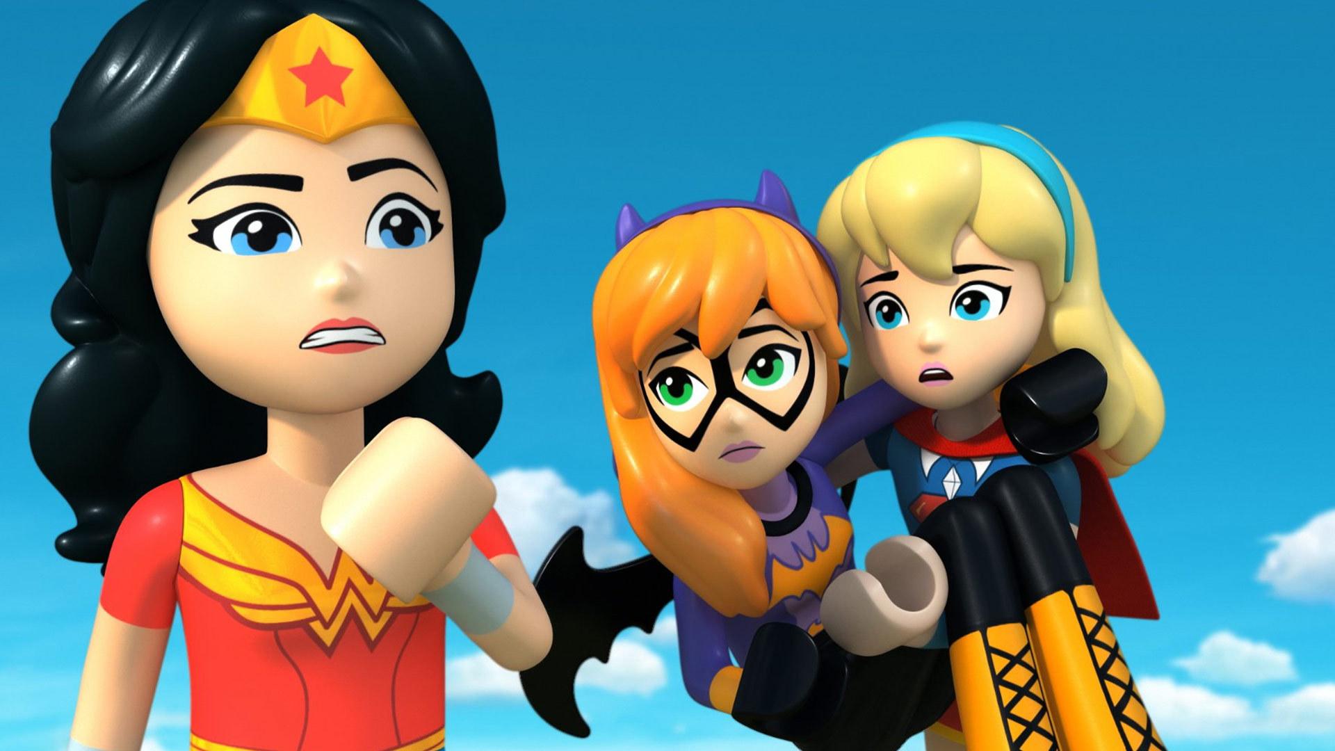 乐高 DC超级英雄少女:失忆大冒险