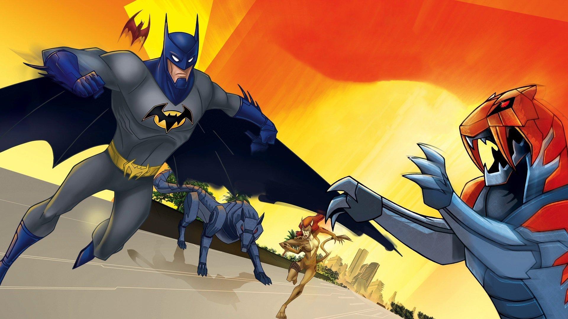 蝙蝠侠无极限:动物本能(动作片)