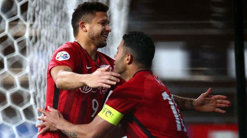 2018亚冠1/8决赛首回合:鹿岛鹿角3-1上海上港