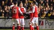 足总杯第5轮:萨顿联0-2阿森纳