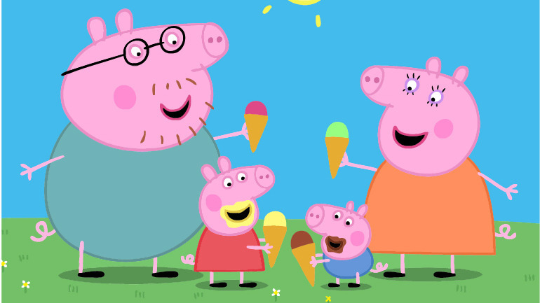 粉红猪小妹 生日派对 小猪佩奇 亲子游戏 小猪佩奇动画片 粉红猪小妹