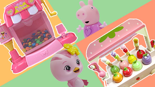 奇奇和悦悦的玩具