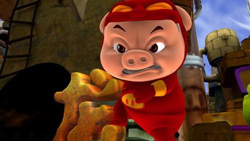 猪猪侠勇闯未来城