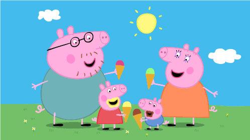 可爱猪动态头像