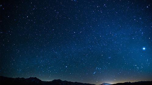 最初的星空