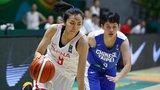 2017女篮亚洲杯:中国102-63中国台北