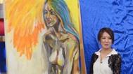 几近全裸人体素描比赛 20130627