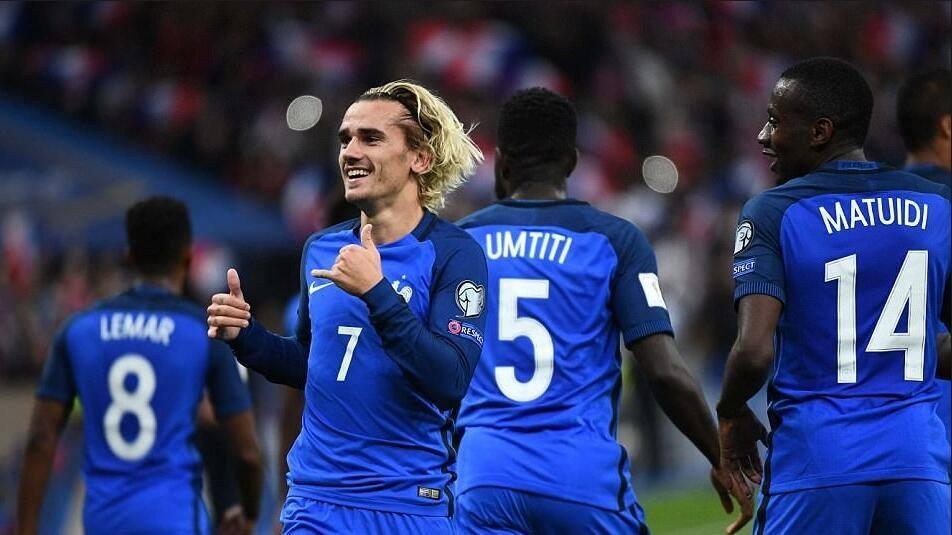 2018足球友谊赛 法国2-2冰岛