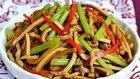 舌尖定菜名:豆干肉丝