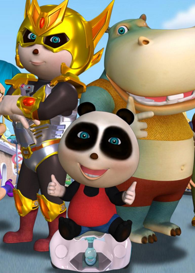"""简介:动画片讲述了一只可爱憨厚,乐观向上的大熊猫""""熊仔""""在追求梦想的"""