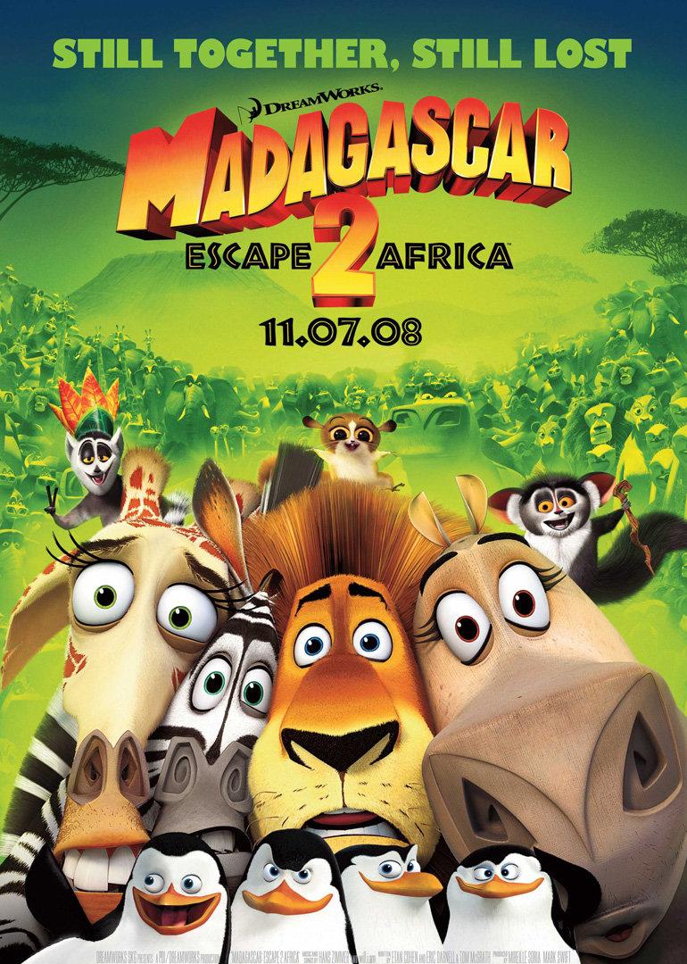 马达加斯加2:逃往非洲--动漫
