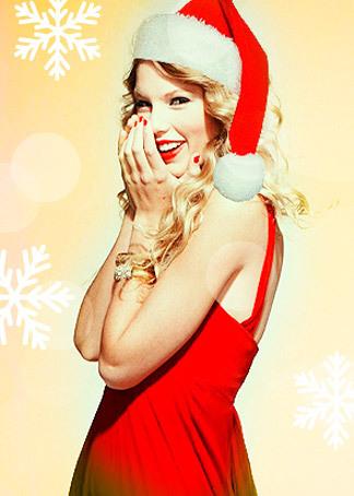 taylor圣诞素颜