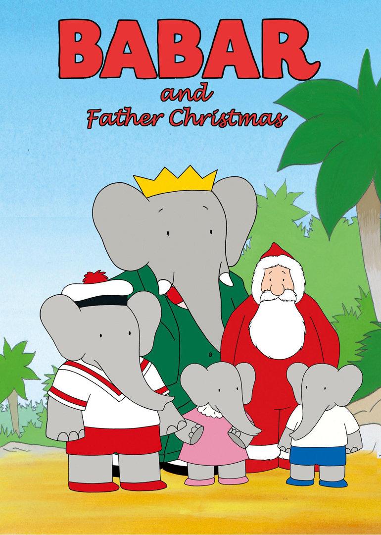 大象巴巴的孩子们给圣诞老人写了封信,请他在圣诞节的时候到塞莱斯特