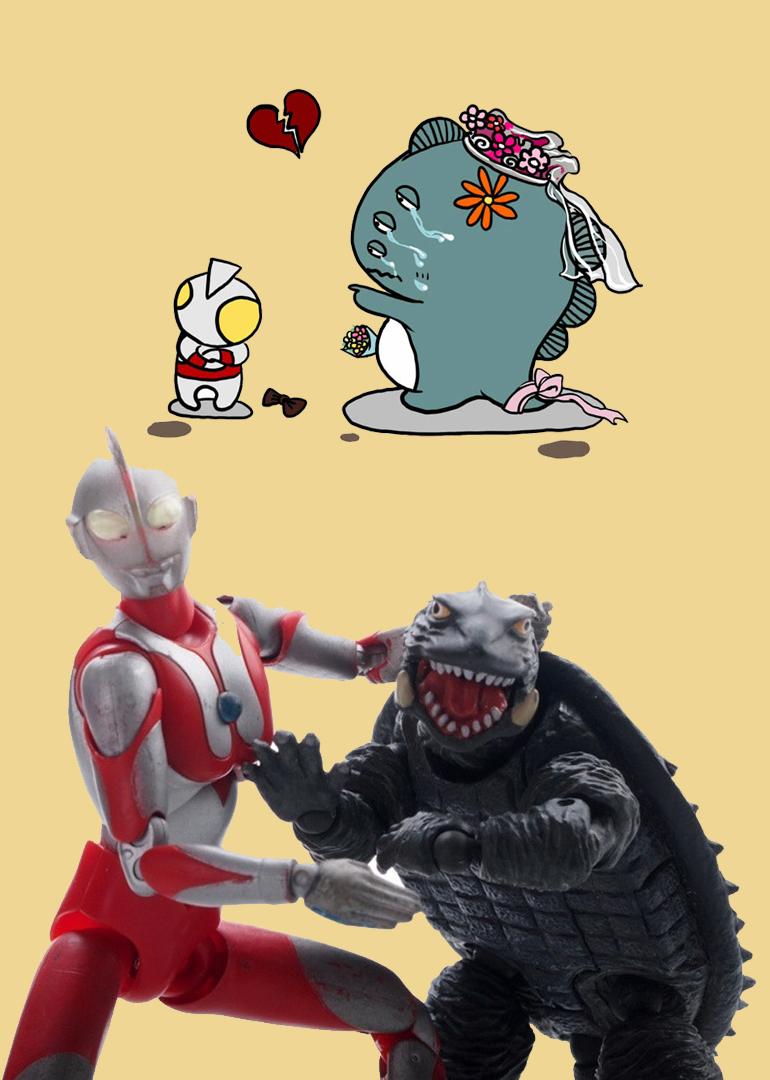 奥特曼和小怪兽 奥特曼和小怪兽的幸福生活