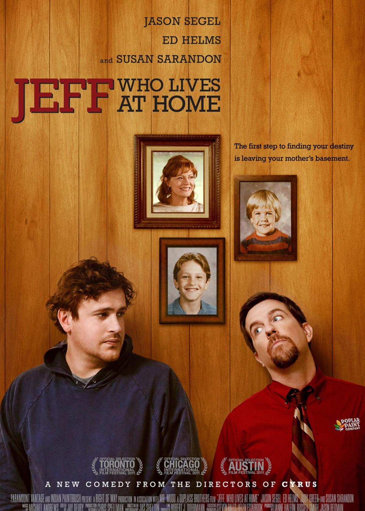 住在家里的杰夫