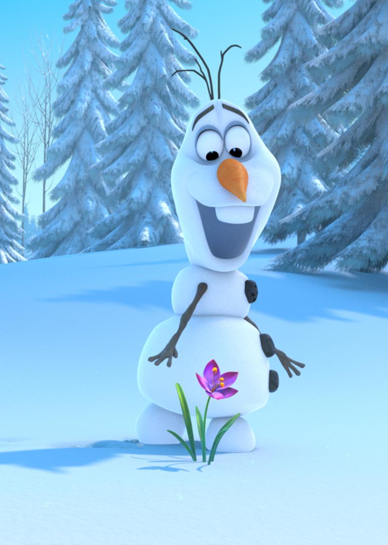 《冰雪奇缘》雪宝爱耍宝:留心周围的环境