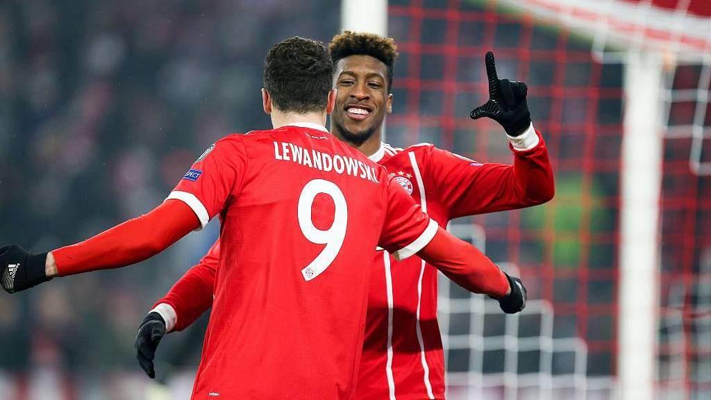最佳12人 贝西克塔斯门柱阻挡莱万必进球_拜仁慕尼黑