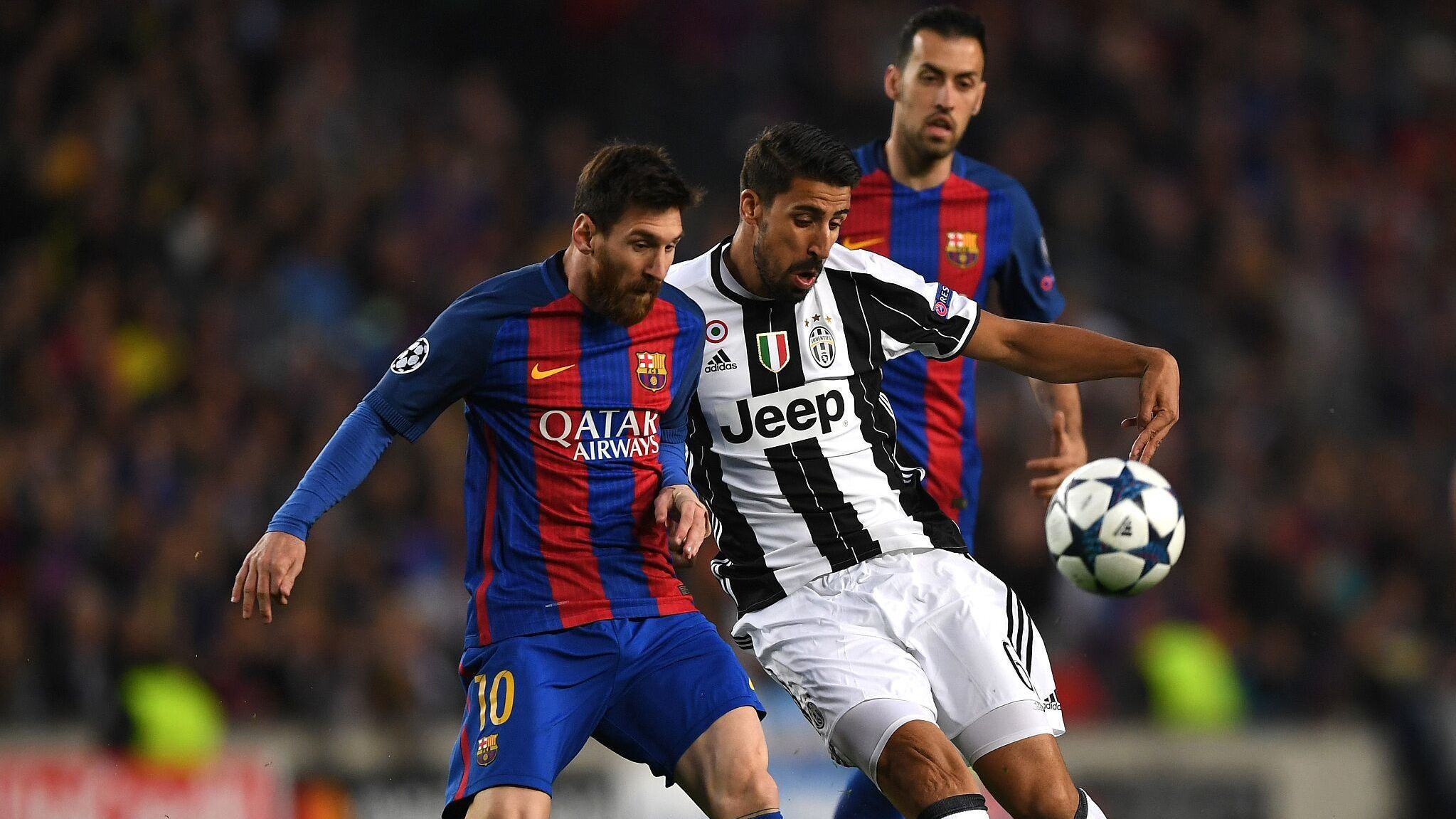 原声回放:欧冠1/4决赛次回合 巴萨vs尤文 上半场_巴塞罗那