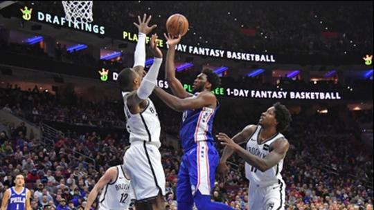 【原声回放】篮网vs费城第4节 76人小将连中三分搞事情_NBA全场回放