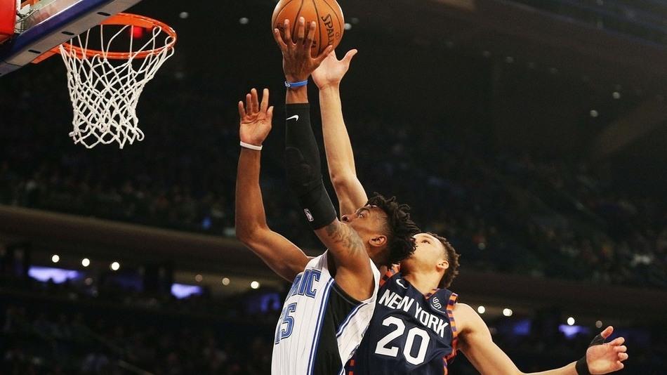 【原声集锦】魔术103-108尼克斯 纽约板凳匪徒合砍75分逆转魔术_NBA全场集锦