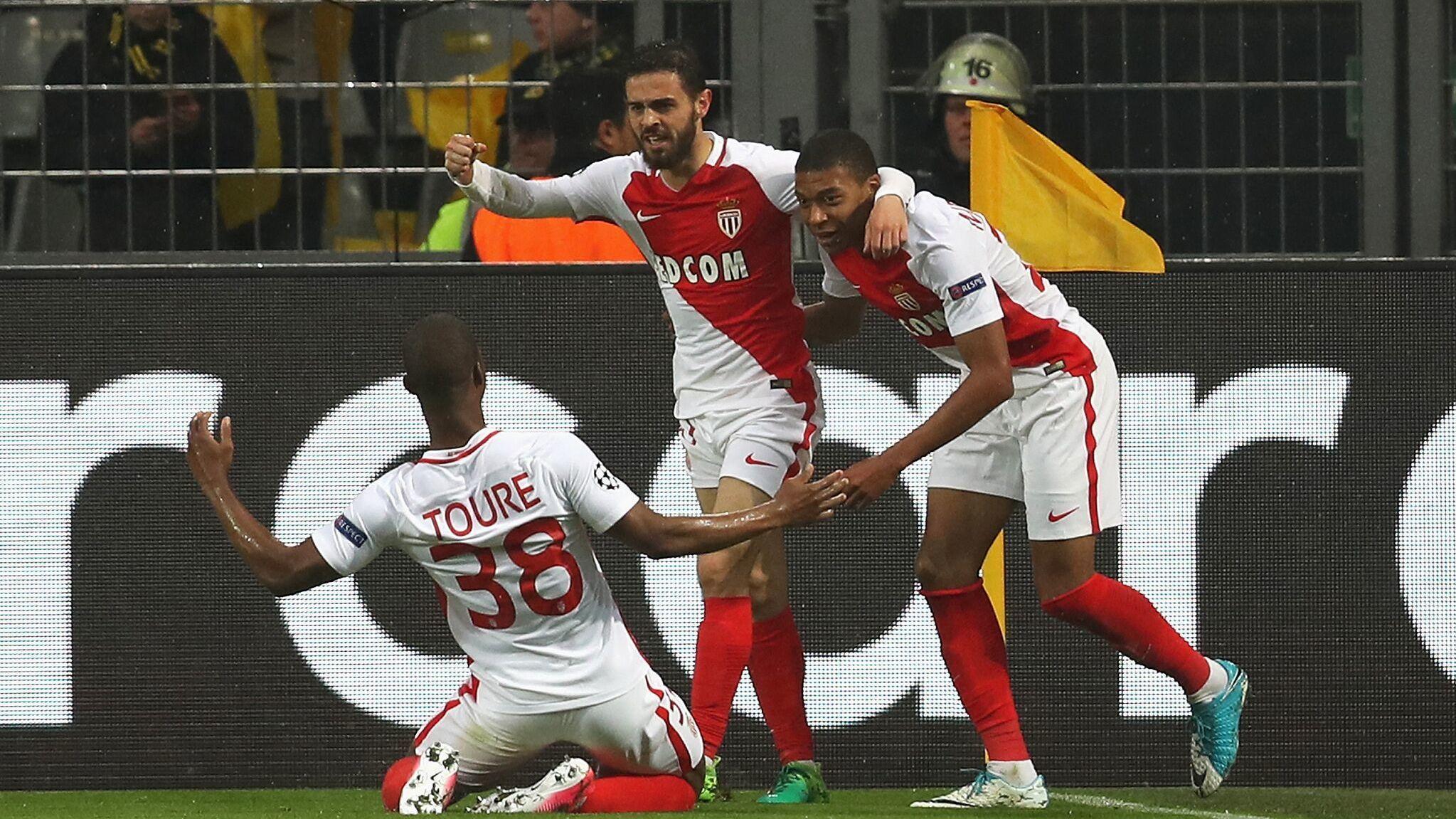 原声回放:欧冠1/4决赛首回合 多特vs摩纳哥 上半场_全景欧冠