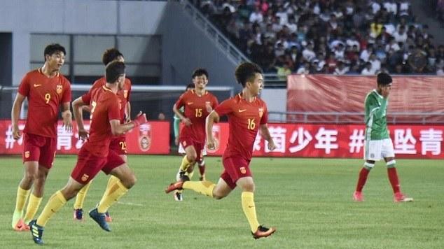 【回放】中国男足U19vs墨西哥U19 上半场