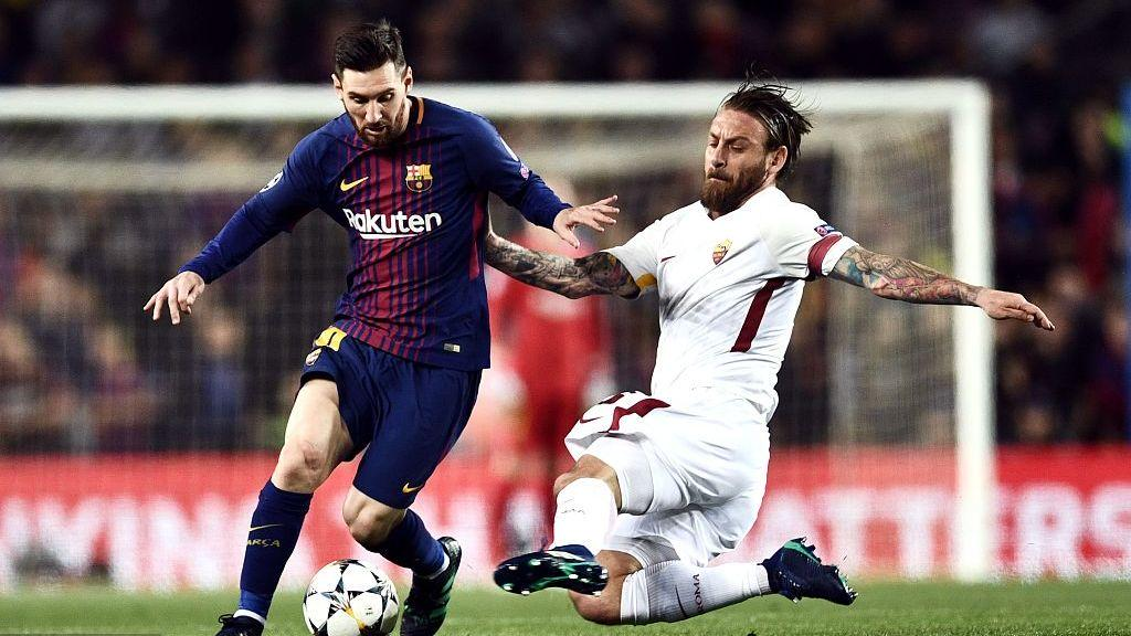 【球星】梅西被重点盯防仍光芒无限 诺坎普国王独造乌龙破僵_巴塞罗那