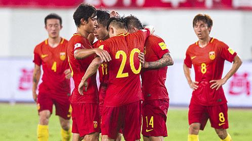全场回放:友谊赛 中国男足vs菲律宾 上半场