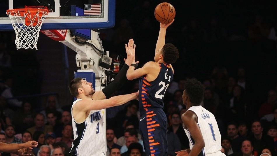 【纯享】魔术vs尼克斯精华回放 艾伦森板凳奇兵率队逆转_NBA全场回放