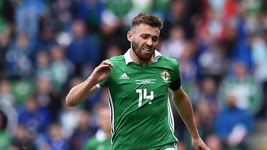 【回放】欧国联B3组第6轮:北爱尔兰vs奥地利 上半场_欧洲国家联赛