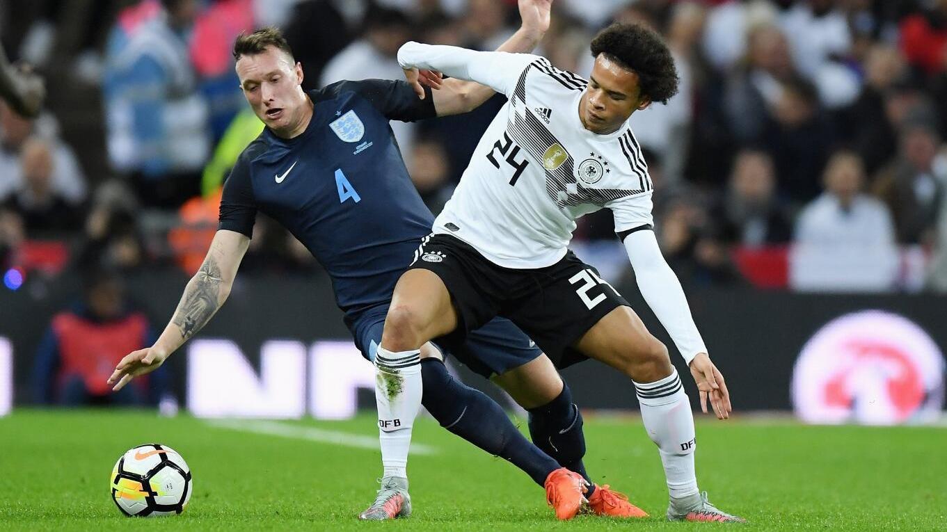 【原声】2017国际友谊赛:英格兰vs德国 上半场