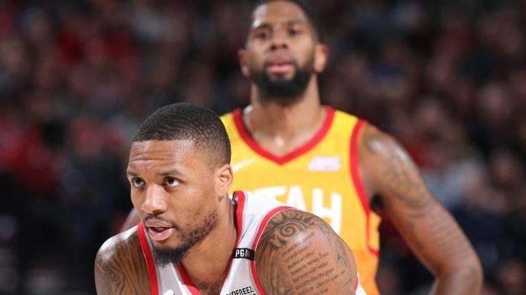 【纯享】爵士vs开拓者精华回放 波特兰单节45分打趴爵士_NBA全场回放