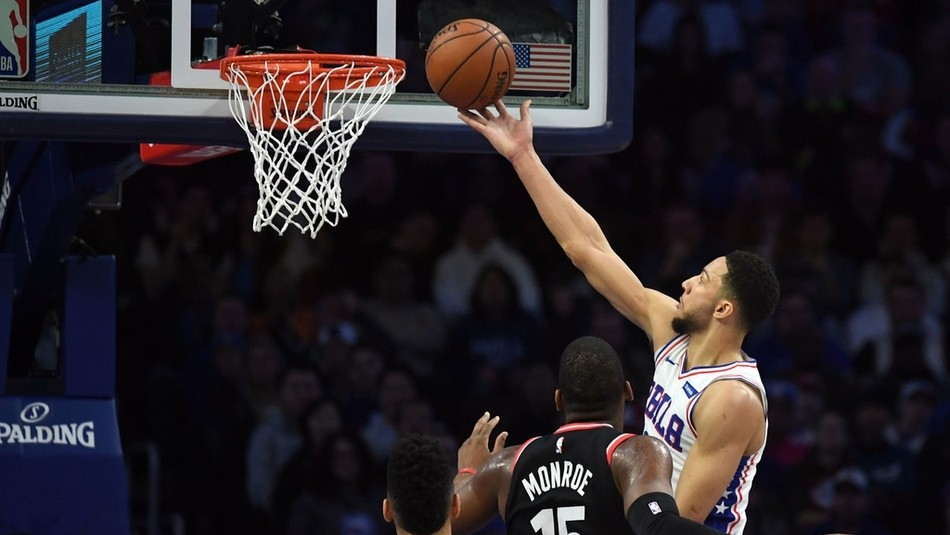 【原声回放】猛龙vs费城第3节 雷迪克超强防干扰三分命中_NBA全场回放