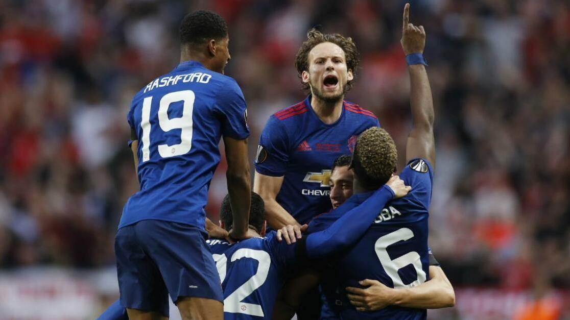 原声回放:欧联杯决赛 阿贾克斯vs曼联 下半场_曼联