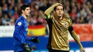 全场回放:欧冠1/8决赛次回合 马德里竞技vsAC米兰 上半场_欧冠