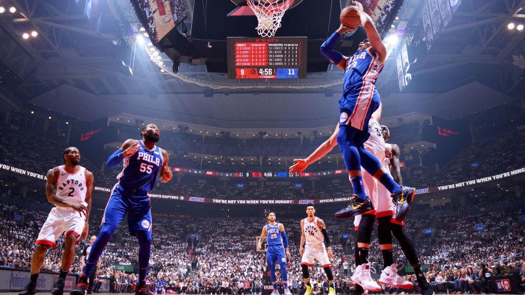 【回放】76人vs猛龙第1节 恩比德遮天大帽上课鲍威尔_NBA全场回放