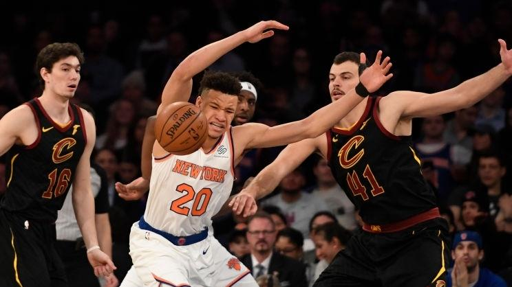 【球星】塞克斯顿&奥斯曼集锦 合砍43分闪耀麦迪逊花园_NBA全场集锦