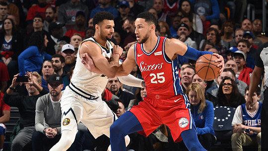 【回放】掘金vs费城第3节 雷迪克无解漂移三分_NBA全场回放