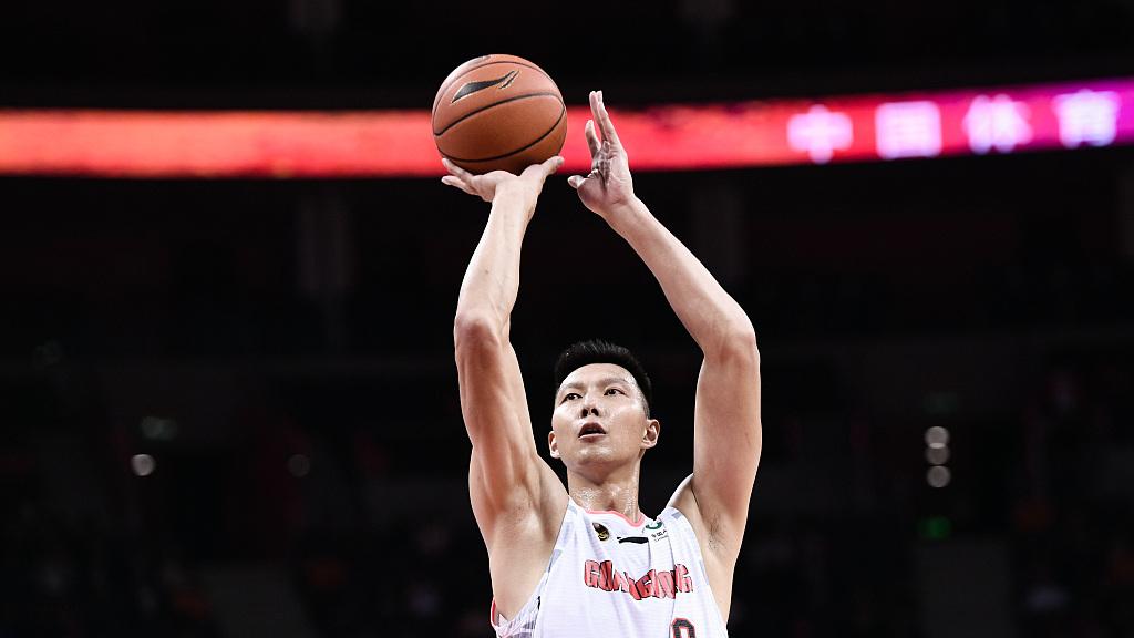 【采访】杜锋:防守足够积极 队伍整体表现不错_广东男篮