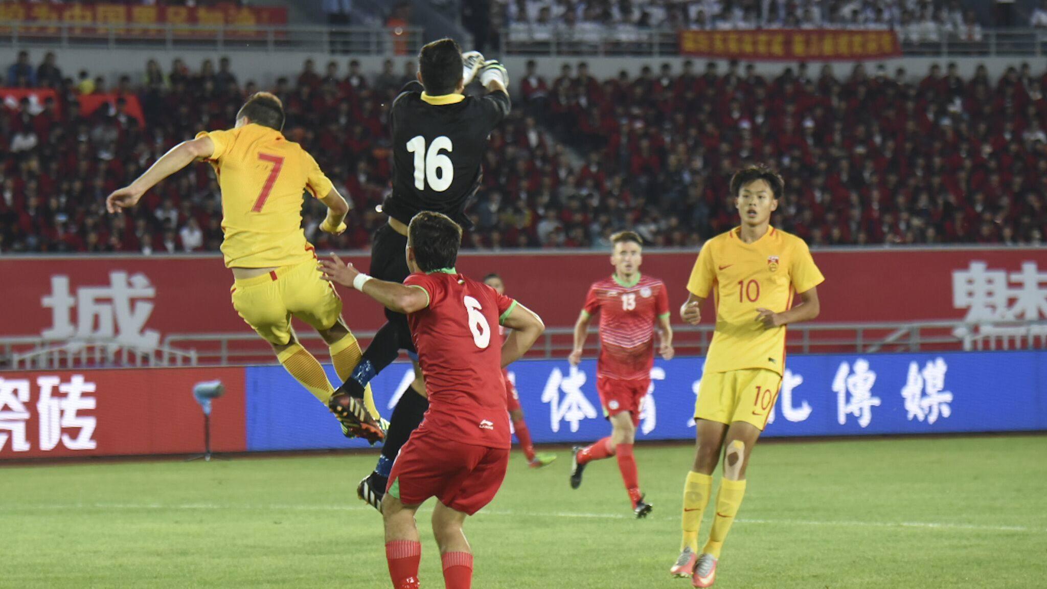 【集锦】塔吉克斯坦U19 0-1中国U19 郭田雨冷射破门制胜_国足