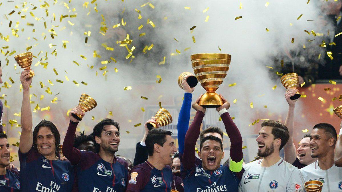 【集锦】莱塞比耶0-2巴黎 洛塞尔索建功卡瓦尼点射_法国杯