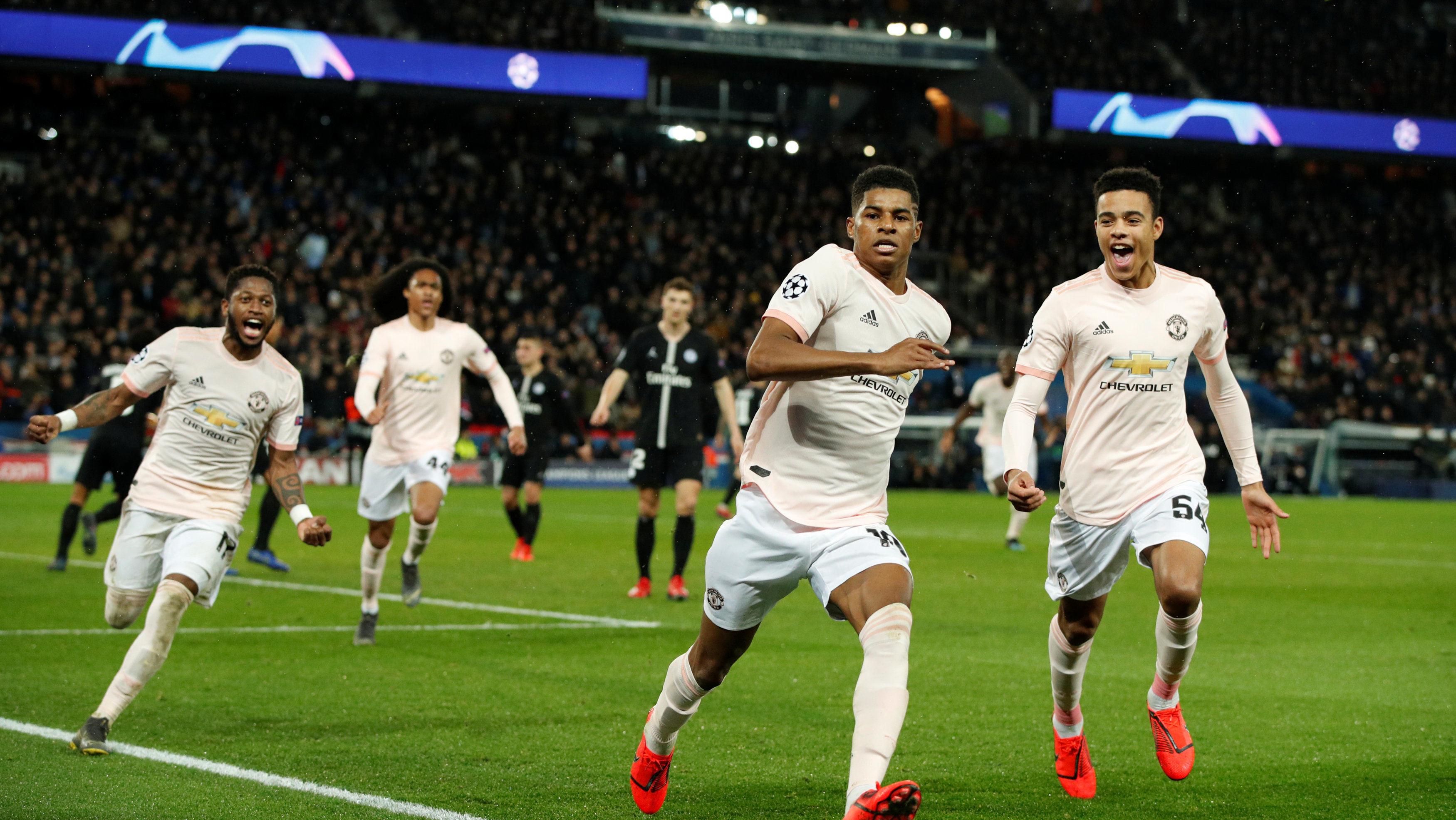 有一种奇迹叫曼联 红魔球员赛后肆意庆祝球队大逆转晋级_曼联